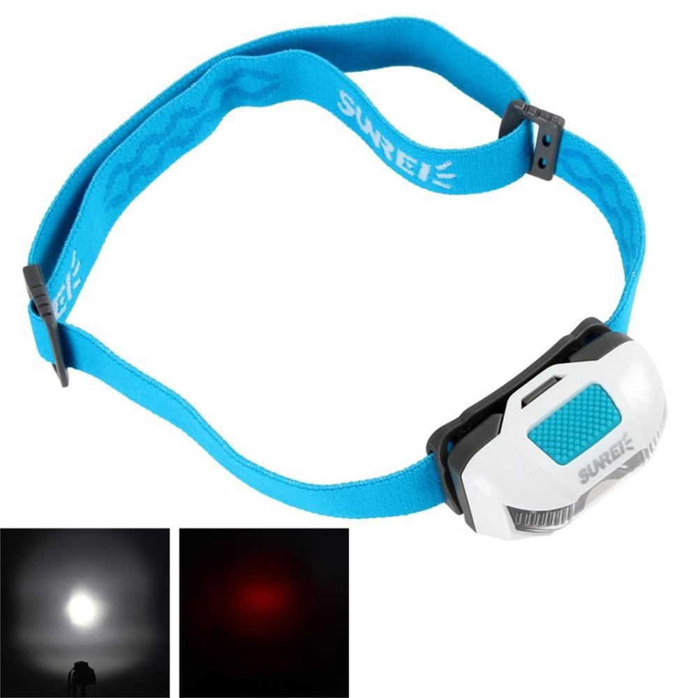 SUNREE SPORTS3 115LM 1 x XP-G2 + 2 x LEDs 6-Mode IPX6 Waterproof Outdoor Headlamp + 2 x AAA Battery + Adjustable Headband(China (Mainland))