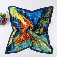 Buy BJ 2017 New Fashion Headband Muslim Hijab Hijabs Square Silk Scarf Women Women's Scarves Bandana Pashmina Handkerchief Shawl for $3.77 in AliExpress store