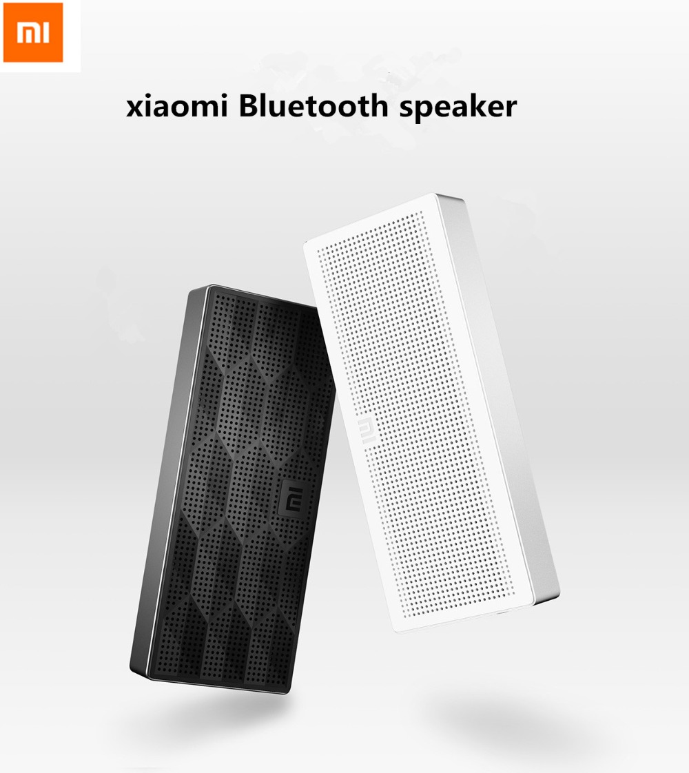 Xiaomi Bluetooth Speaker Portable Mini: Original Xiaomi Mi Bluetooth Speaker Portable Wireless Mini Square Box Speaker For IPhone And