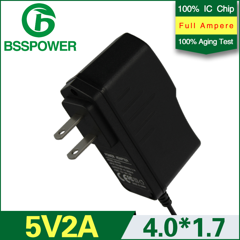 Best price high quality 5v 2a universal switching 2000mA power adaptor dc 4.0*1.7mm with US plug(China (Mainland))