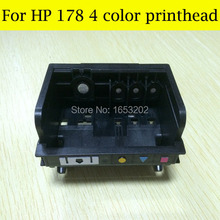 HOT!! 4 Color For HP178 printerhead For HP printer 6521 6510 6520 7510 B8553 B109Q B109N for hp 178 printer head