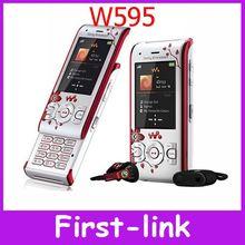 W595 Original Sony Ericsson W595 3G 3.15MP Unlocked Cell Phone FREE SHIPPING 1 Year Warranty IN STOCK