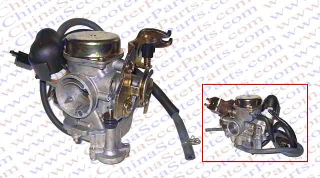 Performance 23MM CVK Carb PD23 font b GY6 b font 50CC 60CC 80CC 100CC Jonway Roketa