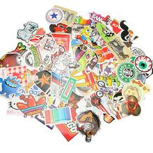 100 pcs Car stickers for Travel Suitcase Wall Pencil Box Bike Phone Card Sliding Plate of mixed graffiti Car Styling stickers(China (Mainland))