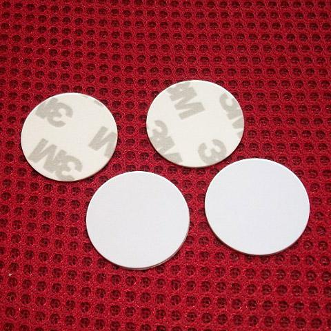 Dia 25mm RFID Tag RFID PVC Token with 3M Sticker 125KHZ EM4305 RFID Writable Coin tag with EM4305 Chip<br><br>Aliexpress