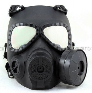 Emirates Airsoft Protection Mask MO4 nuclear war crisis series (Black)