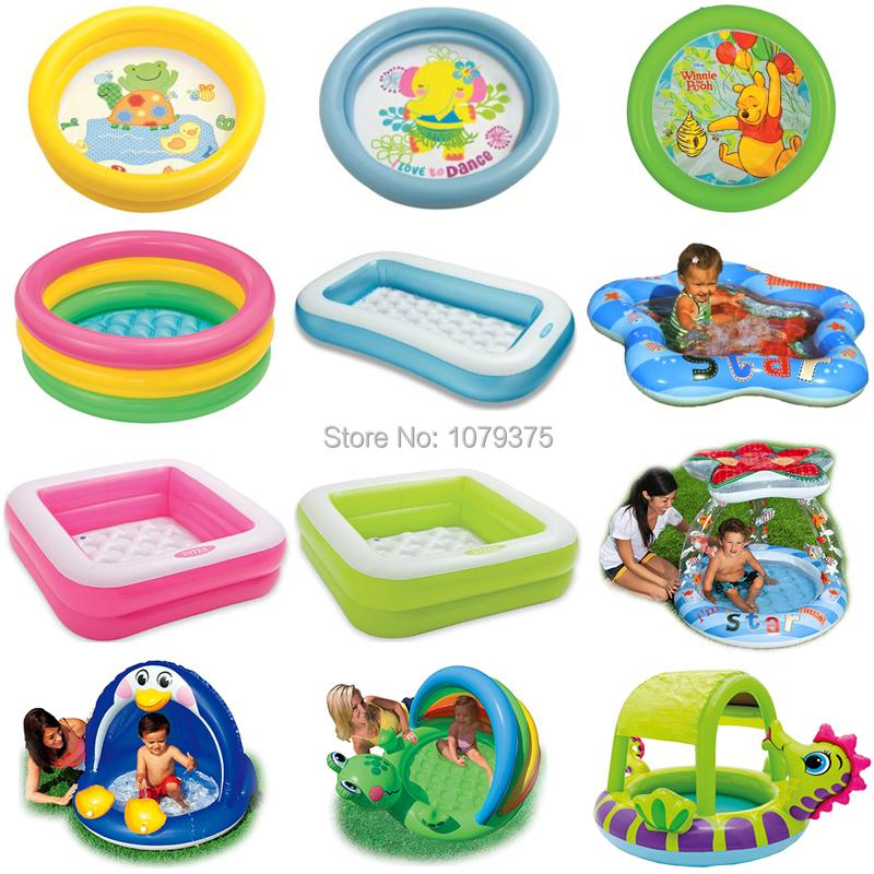 Compra piscina para ni os intex online al por mayor de for Piscina inflable intex para bebe