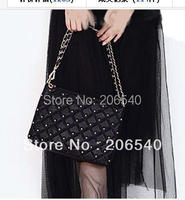 Sell one like this   Lady Womens Handbag Tote Bag Rivets chain Shoulder Bag Envelope Messenger