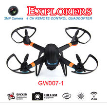 Global Drone GW007-1 Remote Control UFO Flying Saucer Skywalker Quadcopter RC Quadcopter Helicopter Aerial Photography Drone