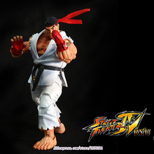 Buy 18cm NECA Player Select Ultra Street Fighter IV Survival Model Ken Masters Ryu Guile Gouki Action Figure Toy 5 Style White Black for $22.24 in AliExpress store