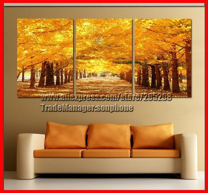 Buy Framed 3 Panel Large Wall Art Picture Feng Shui Canvas