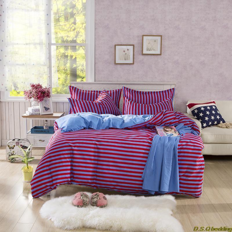 purple stripe adult kids single double bedding set king queen full twin size comforter sheet. Black Bedroom Furniture Sets. Home Design Ideas