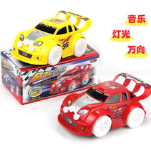2015 New Lovely Mini Speed Micro Racing With Light&Music Electric Cars Toy As Gifts Promotion Free Shipping(China (Mainland))