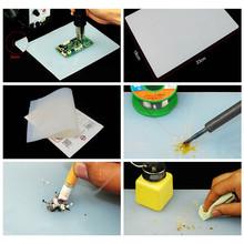 18*23cm Heat-resistant Heat Gun BGA Soldering Station Repair maintainance insulator pad desk mat maintenance platform(China (Mainland))