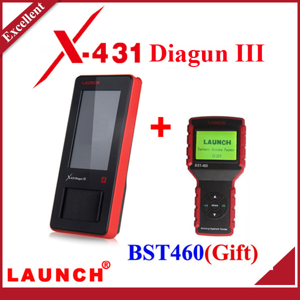 [Authorized Distributor] 2014 New Arrival Auto Diagnostic Scanner Launch X431 Diagun III 100% Original Update via internet X-431(China (Mainland))