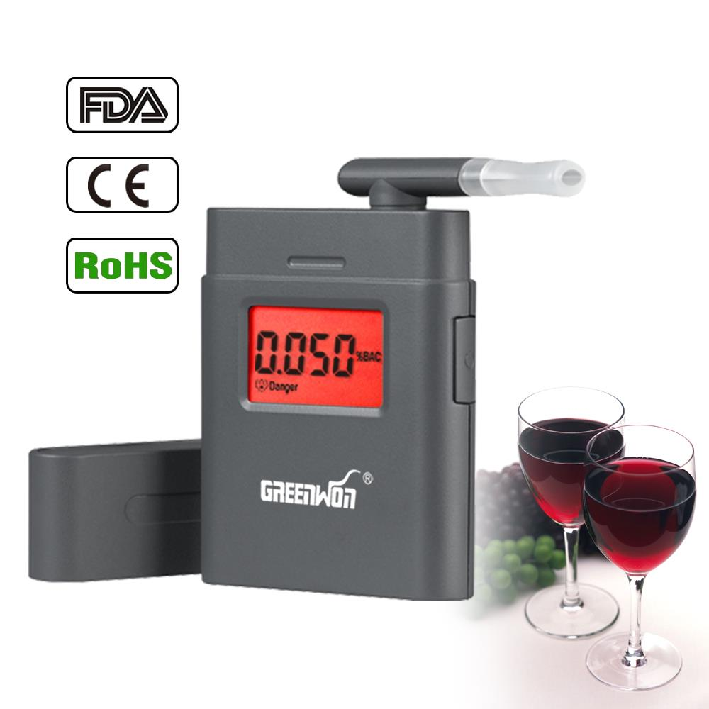 Free Shipping LCD Digital Alcohol Breathalyzers Breath Tester Analyzer, freeshipping Wholesale(China (Mainland))
