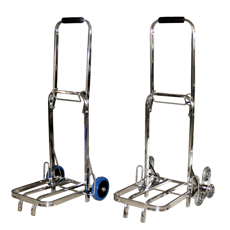 Load King Stainless six Palou portable folding luggage cart shopping cart trolley car truck pulling small carts(China (Mainland))