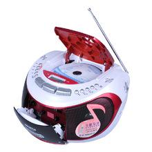 Portable Audio free shipping 2014 new hot Portable CD player USB SD player radio cassette recorder tape prenatal machine