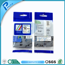 5PCS 12mm Brother P-touch Tze 12mm Tze-S231 Tzes 231 Extra Strong Adhesive tape