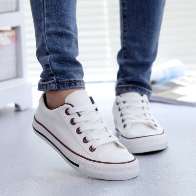 2015 весенние ботинки холстины женщин Корейский студент приток черно-белые туфли, ...