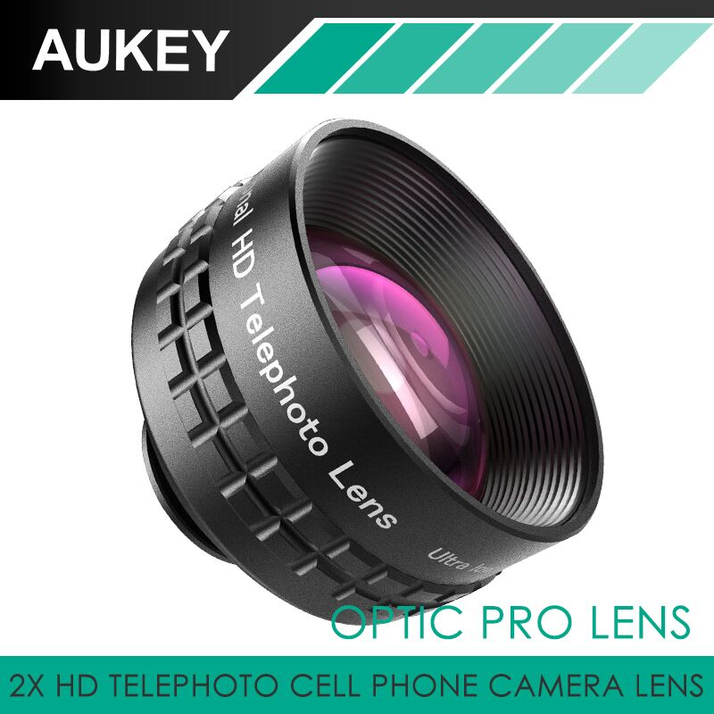 Aukey Optic Pro Lens 2X HD Telephoto Cell Phone Camera