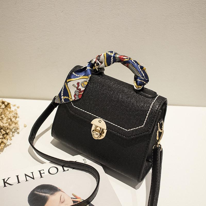 Small Shoulder Bag 2016 New Korean Style Trendy Concise Crossbody Bag Fashion Push Lock Flap Bag Women PU Leather MINI Hand Bag
