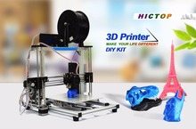 High Accuracy DIY 3D Printer Kit for Reprap Prusa i3,MK3 heatbed,LCD 2004,MK8 extruder,Official prototype,Free shipping