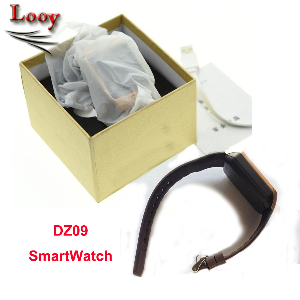 DZ09 bluetooth smart watch for android IOS Samsung Iphone phone support SMI/TF men women sport wristwatch(China (Mainland))