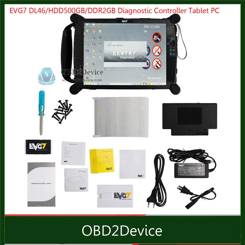 NEW Super Car diagnostic Tablet PC EVG7 DL46 for professional garage/ mechanic car repair services evg7 Tablet PC(China (Mainland))
