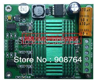 DCser001# Motor drive module,DC motor driven 100A 2 channel, super power H bridge wide voltage 48V(China (Mainland))