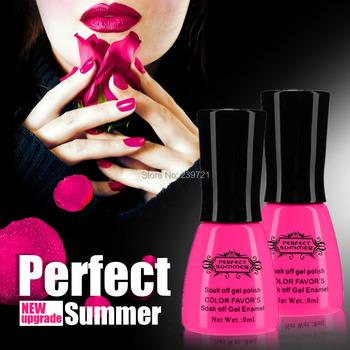 Горячая распродажа известный бренд идеальный лето 1 шт. уф гель лак для ногтей Высокое качество длительный выдерживает с геля для ногтей 8 мл бесплатная доставка