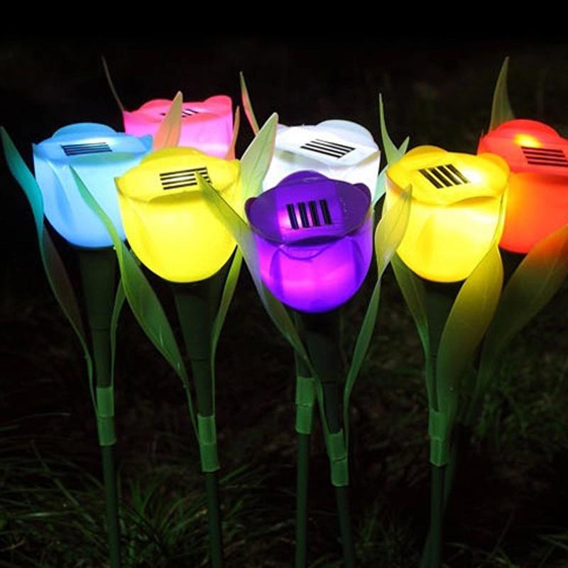 Online kopen wholesale solar tulp uit china solar tulp groothandel - Outdoor licht tuin ...