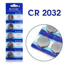 Knopfbatterie CR2032 5 Stücke 3 V Lithium-Knopfzellen Knopfbatterie 5004LC ECR2032 DL2032 KCR2032 EE6227(China (Mainland))