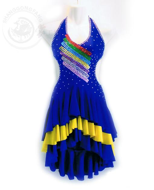 New Latin dance costume sexy senior colors spandex latin dance dress for women latin dance competition dresses S-4XL LD-83Îäåæäà è àêñåññóàðû<br><br>