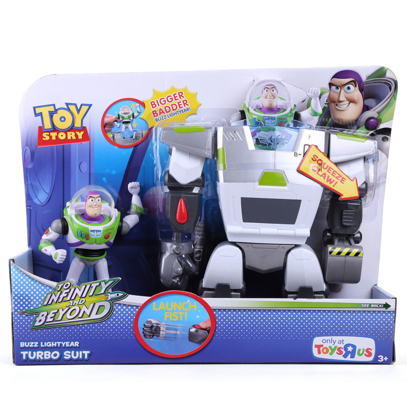 Anime Cartoon Toy Story 3 Buzz Lightyear Turbo Suit PVC Action Figures Collectible Toys Free Shipping DSFG182 <br><br>Aliexpress