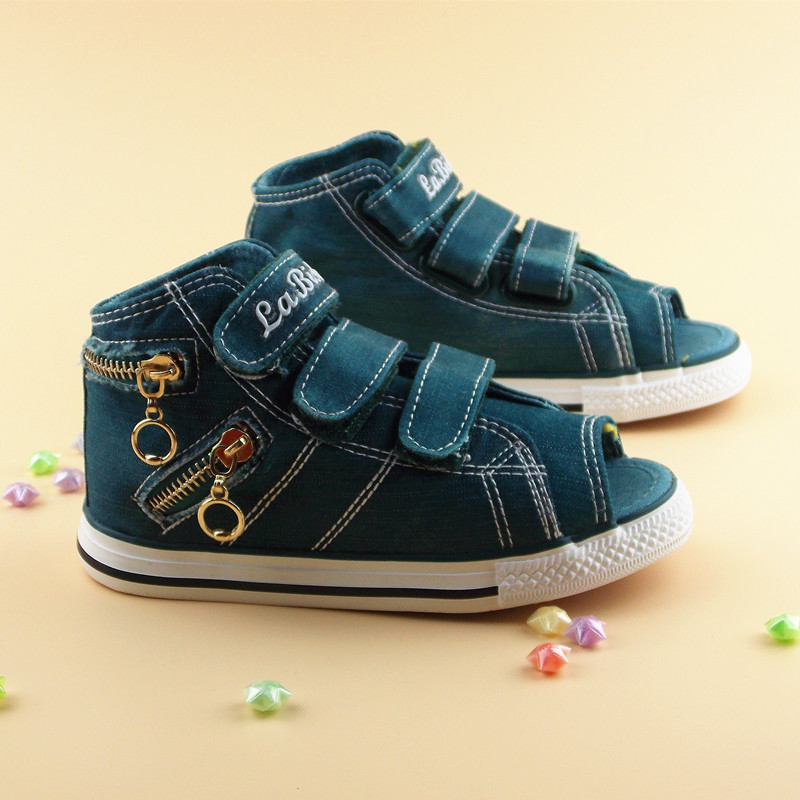 Free shipping ankle high boys canvas shoes fish head and for Fish head shoes