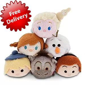 mini Tsum Tsum Elsa Anna Plush Doll Princess Toy Plush Toys,birthday present Kids Dolls for Girls Valentine Day Gift(China (Mainland))