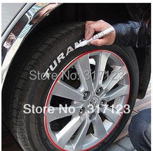free shipping (48pcs/lot )Permanent Waterproof Car Tyre Tire Metal Paint Marking Pen Marker Motor Bike New(China (Mainland))