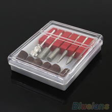 12pcs Professional Nail Art Beauty Salon Nail Manicure Drills Files Bits Set Kit 1VHS