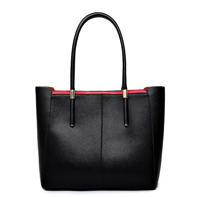 2016 Luxury Women Designer Handbags High Quality Brand PU Leather Ladies Hand Bag Composite Bag Borsetta Donne Sac a Main Femme <br><br>Aliexpress