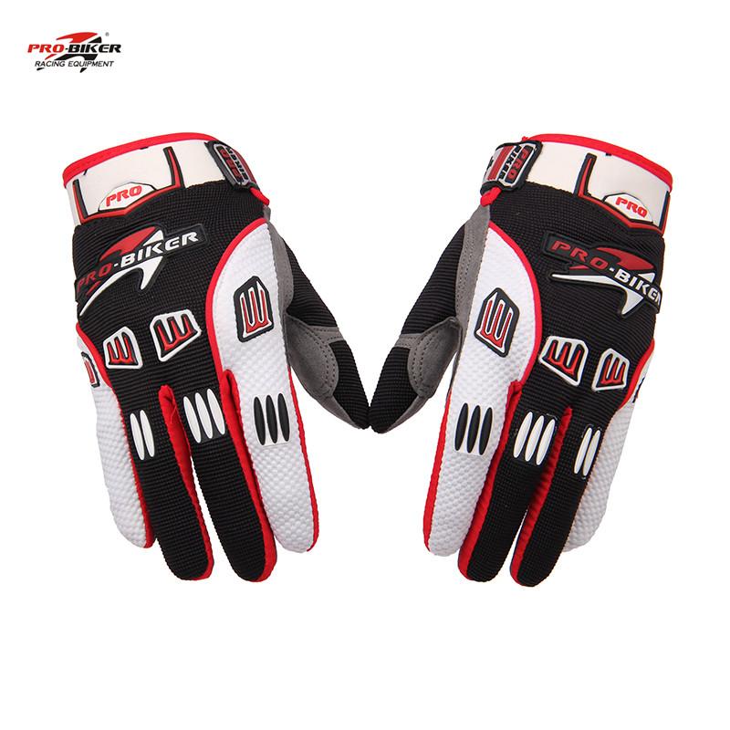 PRO-BIKER Unisex Motorcycle Motocross Gloves Breathable Motocross Gloves Non Slip Guantes Luva Moto Racing Gloves(China (Mainland))