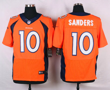 Denver Broncos #18 Peyton Manning Elite White Navy Blue Alternate and Orange Team Color high-quality free shipping(China (Mainland))