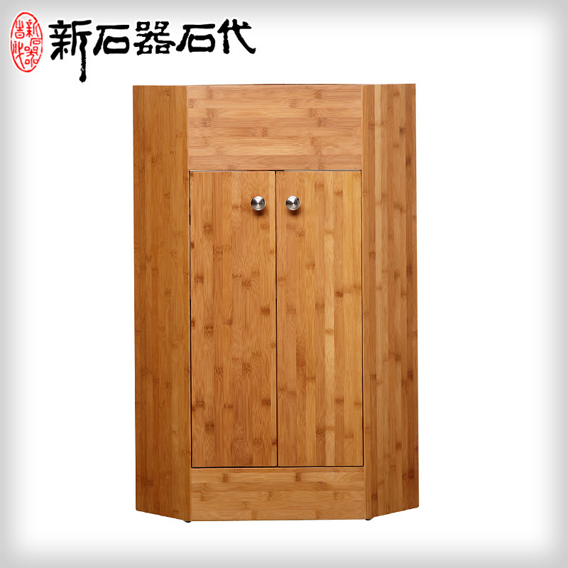 solid wood bathroom cabinet combination b1 3 wood corner cabinet