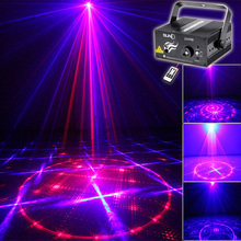 Buy SUNY Lighting 3 Lens 24 Pattern Stage Home Party Club RB Laser Blue LED Professional Projector illumination DJ Light Disco Z24RB for $64.56 in AliExpress store