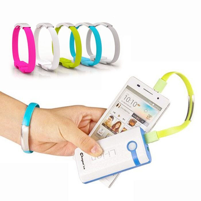 2015 New Arrival Bracelet Mobile Phone Cables Micro USB Data Cable Charging For Samsung Galaxy S3 S4 S6 A3 A5 A7 Note 2 4 M8 M9(China (Mainland))