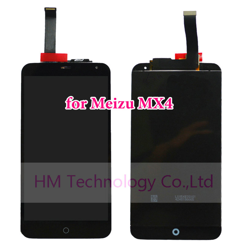 1pc Black LCD+TP Meizu MX4 MX 4 5.36 inch LCD Display+Touch Screen Digitizer Panel Assembly Replacement Parts +Tool - HM Technology Co.,Ltd store