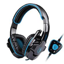 SADES SA-901 Professional 7.1 Surround Sound USB Noise Cancelling Wired Gaming Headset Headphone with Mic for PC Laptop Games(China (Mainland))