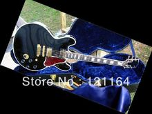 best Custom King Lucille Gloss Ebony Finish Varitone Switch 57 Classics electric guitar OEM Available Cheap(China (Mainland))