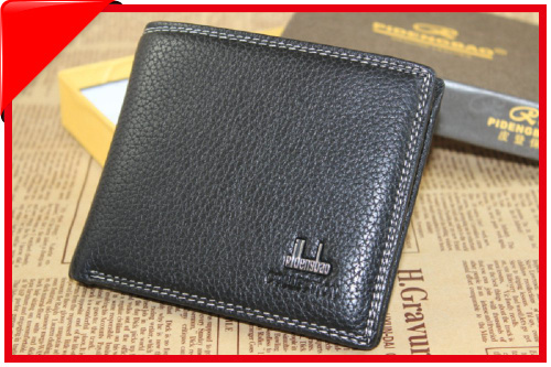 Gift Idea Men's Clutch Gift Idea New High Quality Pu Leather Wallet Luxury Bifold Purse Notecase Fashion Pockets Billffold BB601