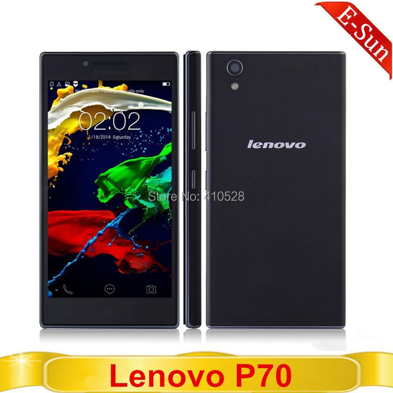 Original Lenovo P70-t P70T P70 T cellphone 64bit MTK6732 quad core 2GB RAM 16GB ROM 5.0'' HD Screen dual sim 4G cellphone(China (Mainland))